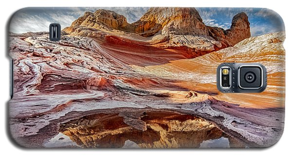 Sunrise Reflection At White Pocket Az Galaxy S5 Case