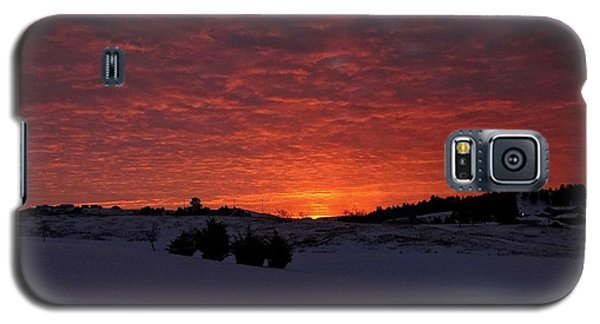 Sunrise Reflection Galaxy S5 Case