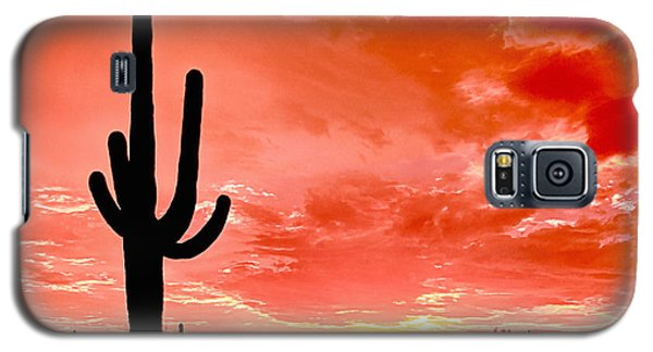 Sunrise Saguaro National Park Galaxy S5 Case