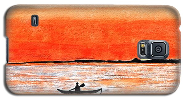 Sunrise Sail Galaxy S5 Case by Sonali Gangane