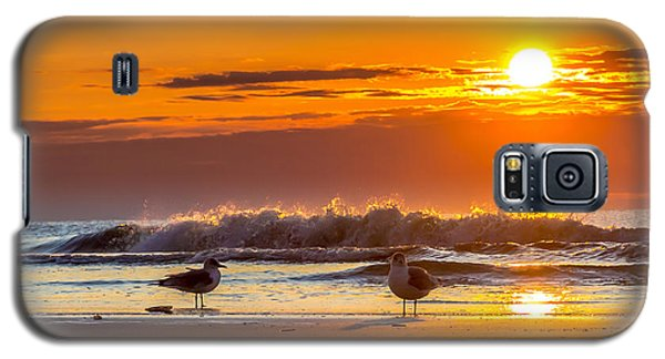 Sunrise Seagulls Galaxy S5 Case