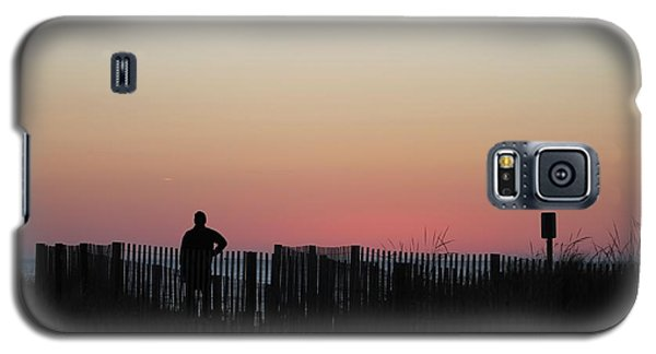 Sunrise Silhouette Galaxy S5 Case
