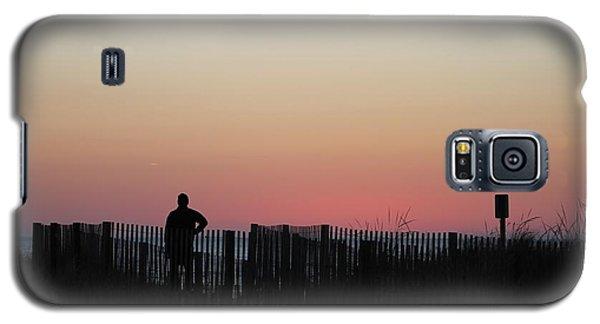 Sunrise Silhouette Galaxy S5 Case by Robert Banach