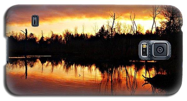 Sunrise Thanksgiving Morning Galaxy S5 Case by Joe Faherty