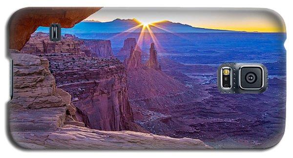 Sunrise Through Mesa Arch Galaxy S5 Case