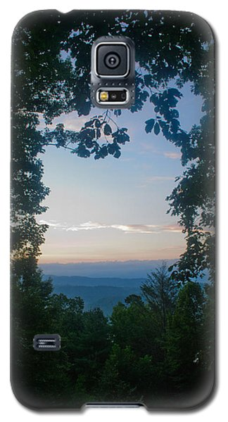 Sunrise Through The Trees Galaxy S5 Case