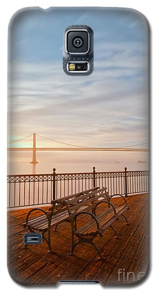 Galaxy S5 Case featuring the photograph Sunrise To The Bay by Jonathan Nguyen