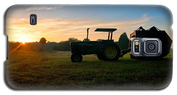 Sunrise Tractor Galaxy S5 Case