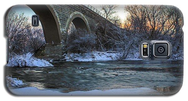 Sunrise Under The Bridge Galaxy S5 Case