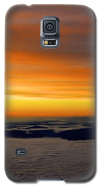 Sunrise View From Plane Galaxy S5 Case by Alex King