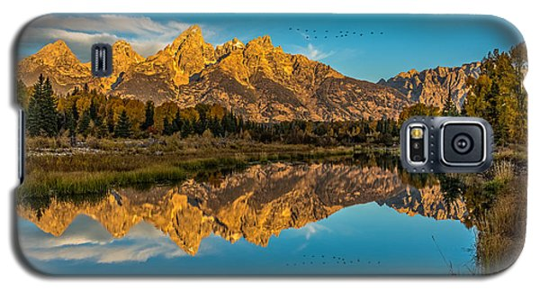 Sunrise Vision At The Grand Tetons Galaxy S5 Case by Yeates Photography
