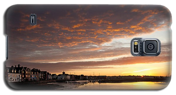 Sunrise Wivenhoe Galaxy S5 Case by David Davies