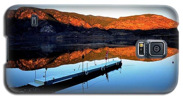 Sunrising - Skaha Lake 3-18-2014 Galaxy S5 Case