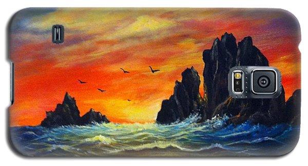 Sunset 2 Galaxy S5 Case by Bozena Zajaczkowska