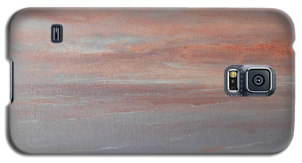 Galaxy S5 Case featuring the painting Sunset 2 by Jane  See