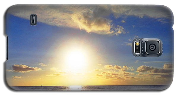 Galaxy S5 Case featuring the photograph Sunset 2 by Ute Posegga-Rudel