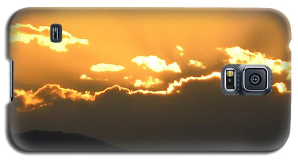 Galaxy S5 Case featuring the photograph Sunset 3 by Ze  Di