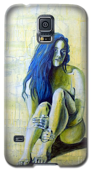 Galaxy S5 Case featuring the painting Sunset 3of4 by Denise Deiloh