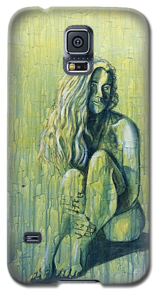 Galaxy S5 Case featuring the painting Sunset 4of4 by Denise Deiloh