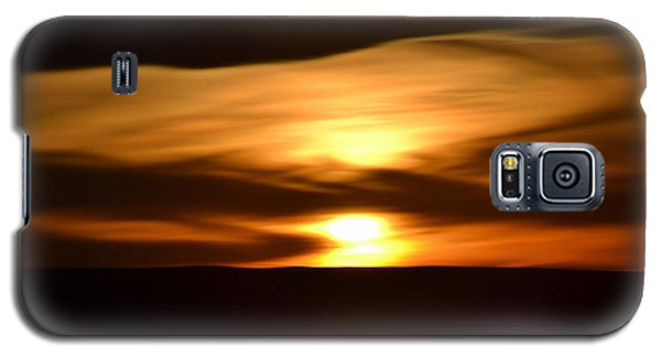 Galaxy S5 Case featuring the photograph Sunset Abstract I by Nadalyn Larsen