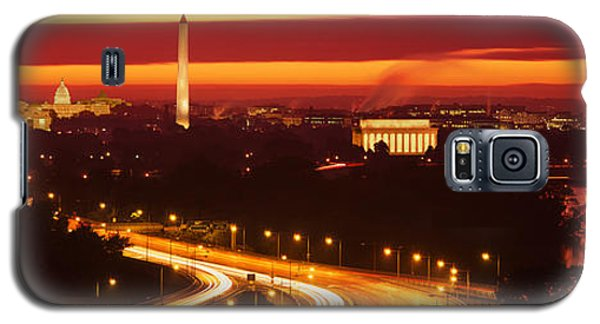 Sunset, Aerial, Washington Dc, District Galaxy S5 Case