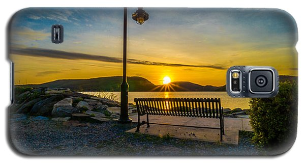Sunset Along The Hudson Valley Galaxy S5 Case