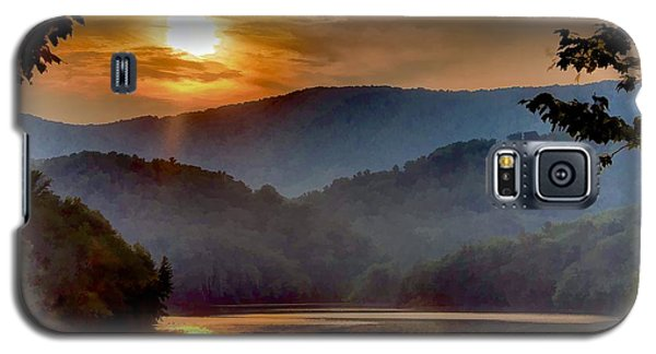 Sunset And Haze Galaxy S5 Case by Tom Culver