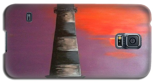 Sunset And Lighthouse Galaxy S5 Case