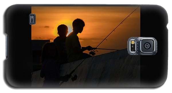 Sunset Anglers Galaxy S5 Case