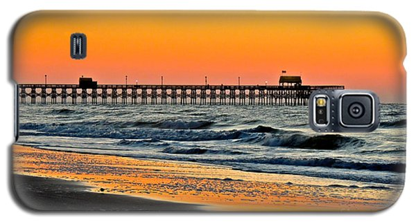 Sunset Apache Pier Galaxy S5 Case by Eve Spring