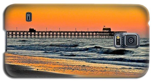 Sunset Apache Pier Galaxy S5 Case