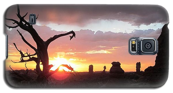 Sunset Arches National Park Galaxy S5 Case