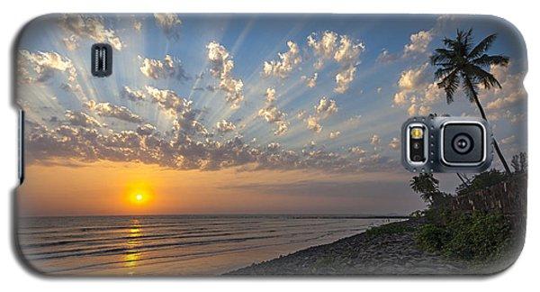 Sunset At Alibag, Alibag, 2007 Galaxy S5 Case