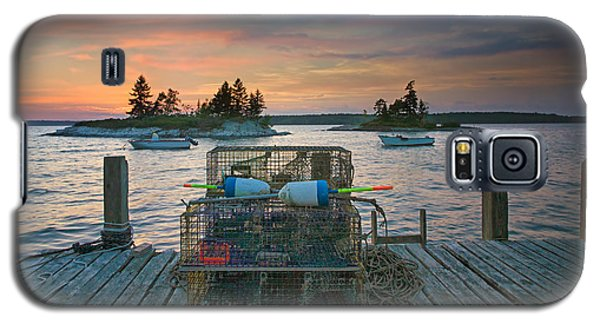 Sunset At Allen's Dock Galaxy S5 Case