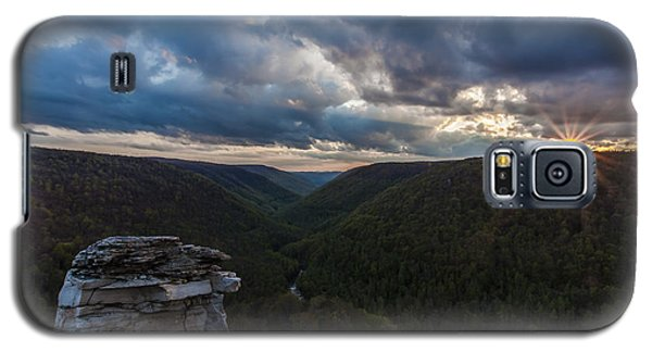 Sunset At Blackwater Falls State Park Galaxy S5 Case