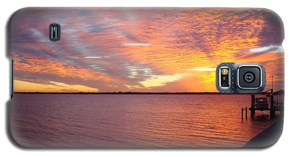 Sunset At Cafe Coconut Cove 2 Galaxy S5 Case