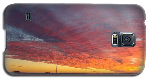 Sunset At Cafe Coconut Cove 6 Galaxy S5 Case