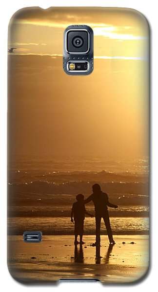 Galaxy S5 Case featuring the photograph Sunset At Cannon by Debra Kaye McKrill
