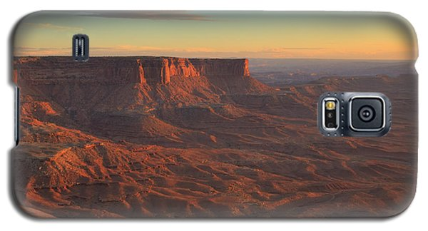 Galaxy S5 Case featuring the photograph Sunset At Canyonlands by Alan Vance Ley
