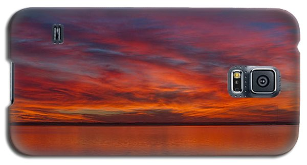 Sunset At Cheyenne Bottoms 1 Galaxy S5 Case