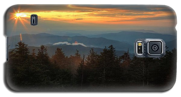 Sunset At Clingman's Dome Galaxy S5 Case
