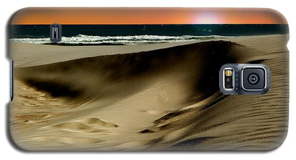 Sunset At Dunes Galaxy S5 Case