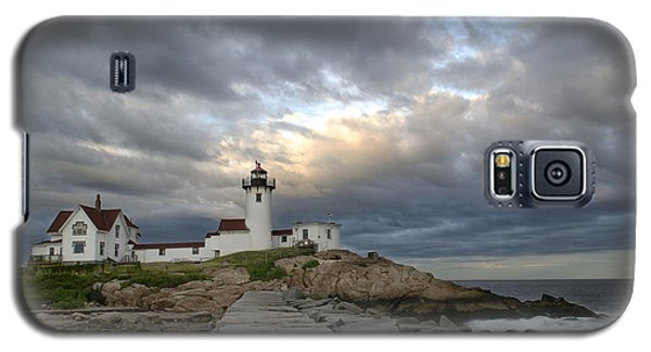 Sunset At Eastern Point Lighthouse Galaxy S5 Case