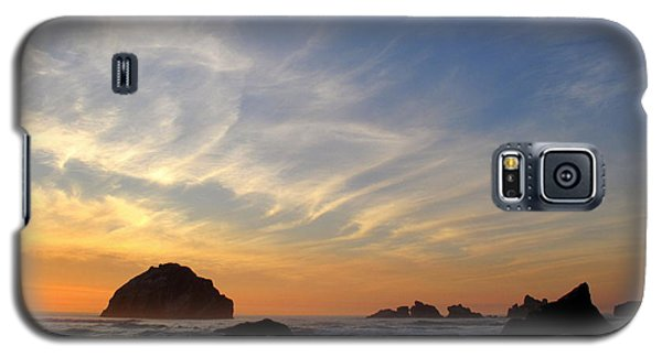 Sunset At Face Rock Galaxy S5 Case by Suzy Piatt