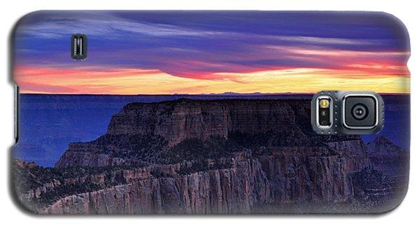 Sunset At Grand Canyon North Rim Royal Point  Galaxy S5 Case