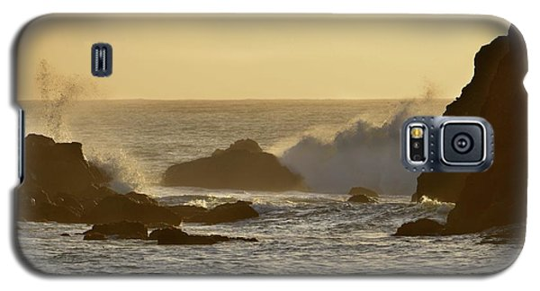 Sunset At Half Moon Bay Galaxy S5 Case by Alex King