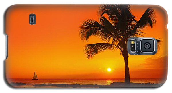 Galaxy S5 Case featuring the photograph Sunset At Ko Olina Resort Oahu by Aloha Art
