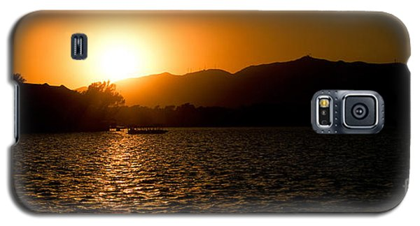 Sunset At Kunming Lake Galaxy S5 Case