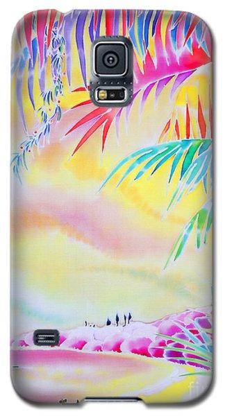 Sunset At Kuto Beach Galaxy S5 Case