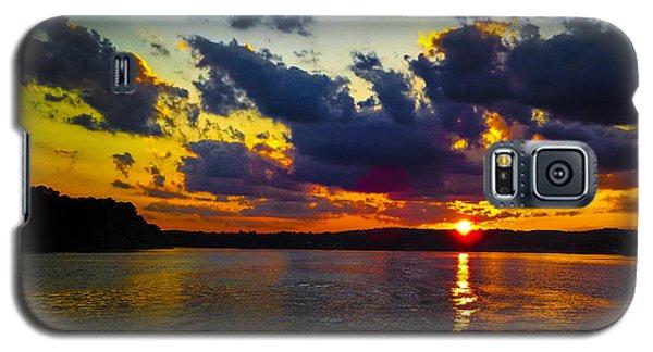 Sunset At Lake Logan Martin Galaxy S5 Case